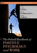 Cover for The Oxford Handbook of Positive Psychology and Work