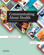 Cover for Communicating About Health