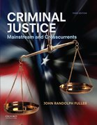 Cover for Criminal Justice