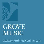 Cover for Grove Music Online