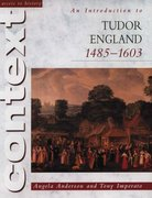 Cover for An Introduction to Tudor England, 1485-1603