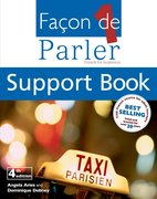 Cover for Facon De Parler 1 - CD and Support Book Pack - 4th Edition