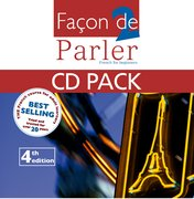 Cover for Facon De Parler 2 CD and Support Book Pack 4th Edition
