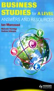 Cover for Business Studies for A Level Answers and Mark Schemes