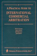 Cover for Practical Guide to International Commercial Arbitration