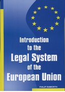 Cover for Introduction to the Legal System of the European Union