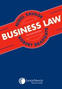 Cover for Savage and Bradgate: Business Law