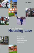 Cover for Text and Materials on Housing Law