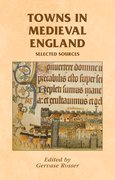 Cover for Towns in Medieval England