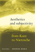 Cover for Aesthetics and subjectivity