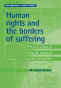 Cover for Human Rights and the Borders of Suffering