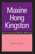 Cover for Maxine Hong Kingston