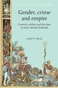 Cover for Gender, crime and empire
