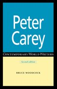 Cover for Peter Carey