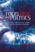Cover for Food, Risk and Politics