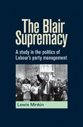 Cover for The Blair Supremacy
