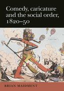 Cover for Comedy, caricature and the social order, 1820-50