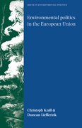Cover for Environmental politics in the European Union