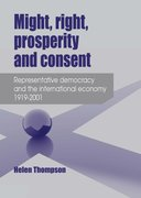 Cover for Might, Right, Prosperity and Consent
