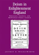 Cover for Deism in Enlightenment England