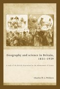 Cover for Geography and science in Britain, 1831DS1939