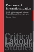 Cover for Paradoxes of internationalization