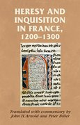 Cover for Heresy and inquisition in France, 1200-1300