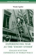 Cover for Experiencing war as the
