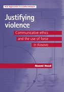 Cover for Justifying violence
