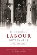 Cover for The Second Labour Government