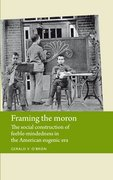 Cover for Framing the moron