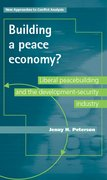 Cover for Building a peace economy?