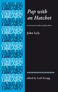 Cover for Pap with an Hatchet by John Lyly