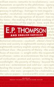 Cover for E. P. Thompson and English Radicalism