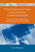 Cover for Challenging times, challenging administration