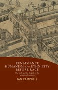 Cover for Renaissance humanism and ethnicity before race