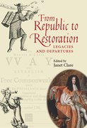 Cover for From Republic to Restoration
