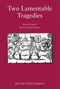 Cover for Two lamentable tragedies