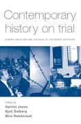 Cover for Contemporary history on trial