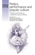 "Cover for ""Politics, performance and popular culture"""