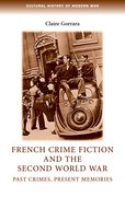 Cover for French crime fiction and the Second World War