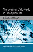 Cover for The regulation of standards in British public life