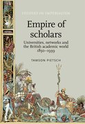 Cover for Empire of Scholars
