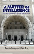 Cover for A Matter of Intelligence