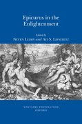 Cover for Epicurus in the Enlightenment
