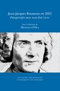 Cover for Jean-Jacques Rousseau en 2012
