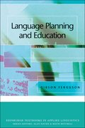 Cover for Language Planning and Education
