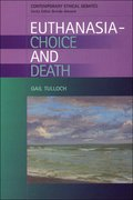 Cover for Euthanasia - Choice and Death