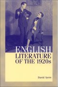Cover for English Literature of the 1920s