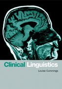 Cover for Clinical Linguistics